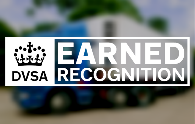 DVSA Earned Recognition logo